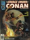 Cover for The Savage Sword of Conan (Marvel, 1974 series) #25