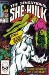 Cover for The Sensational She-Hulk (Marvel, 1989 series) #7