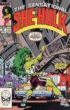 Cover for The Sensational She-Hulk (Marvel, 1989 series) #10