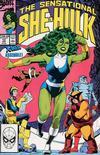 Cover for The Sensational She-Hulk (Marvel, 1989 series) #12