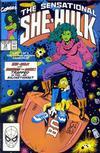 Cover for The Sensational She-Hulk (Marvel, 1989 series) #14