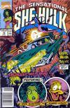 Cover for The Sensational She-Hulk (Marvel, 1989 series) #16