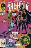 Cover for The Sensational She-Hulk (Marvel, 1989 series) #19