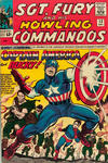 Cover for Sgt. Fury (Marvel, 1963 series) #13