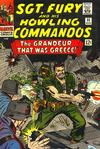 Cover for Sgt. Fury (Marvel, 1963 series) #33