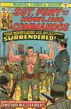 Cover for Sgt. Fury and His Howling Commandos (Marvel, 1974 series) #132