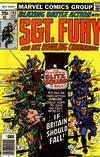 Cover for Sgt. Fury and His Howling Commandos (Marvel, 1974 series) #143