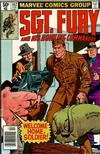 Cover for Sgt. Fury and His Howling Commandos (Marvel, 1974 series) #162