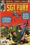 Cover for Sgt. Fury and His Howling Commandos (Marvel, 1974 series) #165