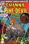Cover for Shanna, the She-Devil (Marvel, 1972 series) #4