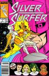 Cover for Silver Surfer (Marvel, 1987 series) #1 [Newsstand]