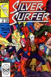 Cover for Silver Surfer (Marvel, 1987 series) #11 [Direct]