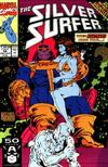 Cover Thumbnail for Silver Surfer (1987 series) #56 [Direct Edition]