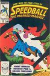 Cover for Speedball (Marvel, 1988 series) #10
