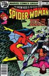Cover for Spider-Woman (Marvel, 1978 series) #9 [Regular Edition]
