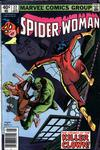 Cover for Spider-Woman (Marvel, 1978 series) #22 [Newsstand]