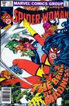 Cover for Spider-Woman (Marvel, 1978 series) #35 [Newsstand]