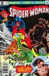 Cover for Spider-Woman (Marvel, 1978 series) #37 [Newsstand]