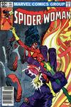Cover for Spider-Woman (Marvel, 1978 series) #44 [Newsstand]