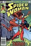 Cover for Spider-Woman (Marvel, 1978 series) #49 [Newsstand]