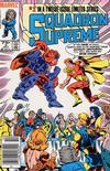 Cover for Squadron Supreme (Marvel, 1985 series) #2 [Newsstand]