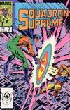 Cover for Squadron Supreme (Marvel, 1985 series) #3 [Direct]