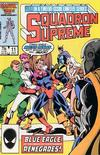 Cover for Squadron Supreme (Marvel, 1985 series) #11 [Direct]