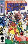 Cover for Squadron Supreme (Marvel, 1985 series) #12 [Direct]