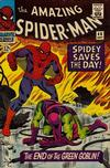 Cover for The Amazing Spider-Man (Marvel, 1963 series) #40 [Regular Edition]