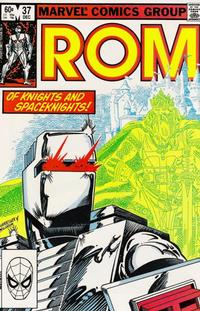 Cover Thumbnail for ROM (Marvel, 1979 series) #37 [Direct Edition]