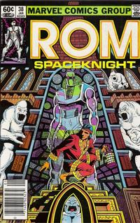 Cover Thumbnail for ROM (Marvel, 1979 series) #38 [Newsstand Edition]