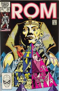 Cover Thumbnail for ROM (Marvel, 1979 series) #39 [Direct Edition]