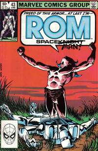 Cover Thumbnail for ROM (Marvel, 1979 series) #43 [Direct Edition]