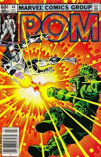 Cover Thumbnail for ROM (Marvel, 1979 series) #44 [Newsstand Edition]
