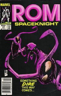 Cover for ROM (Marvel, 1979 series) #47 [Newsstand Edition]