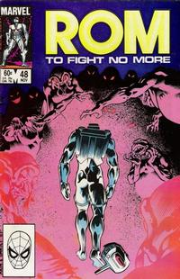 Cover Thumbnail for ROM (Marvel, 1979 series) #48 [Direct Edition]
