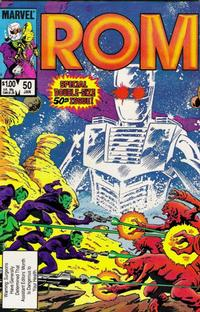 Cover Thumbnail for ROM (Marvel, 1979 series) #50 [Direct Edition]