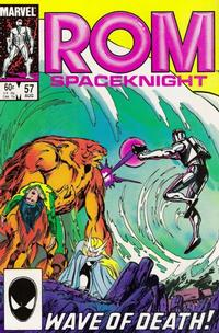 Cover Thumbnail for ROM (Marvel, 1979 series) #57 [Direct Edition]
