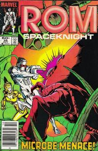 Cover Thumbnail for ROM (Marvel, 1979 series) #59 [Newsstand Edition]