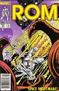 Cover Thumbnail for ROM (Marvel, 1979 series) #63 [Newsstand Edition]