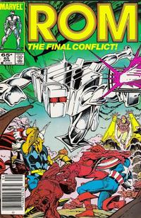 Cover Thumbnail for ROM (Marvel, 1979 series) #65 [Newsstand]