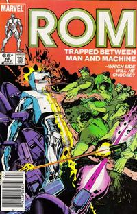 Cover Thumbnail for ROM (Marvel, 1979 series) #68 [Newsstand Edition]