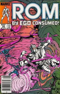 Cover Thumbnail for ROM (Marvel, 1979 series) #69 [Newsstand Edition]