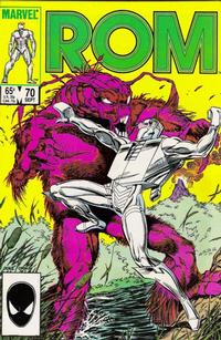 Cover Thumbnail for ROM (Marvel, 1979 series) #70 [Direct Edition]