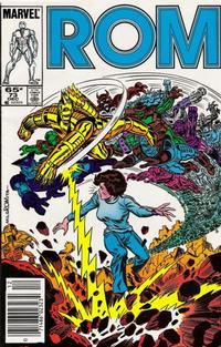 Cover Thumbnail for ROM (Marvel, 1979 series) #73 [Newsstand Edition]