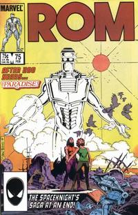 Cover Thumbnail for ROM (Marvel, 1979 series) #75 [Direct Edition]