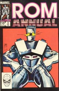 Cover Thumbnail for ROM Annual (Marvel, 1982 series) #2 [Direct]
