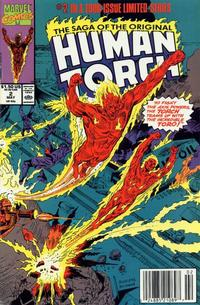 Cover Thumbnail for Saga of the Original Human Torch (Marvel, 1990 series) #2