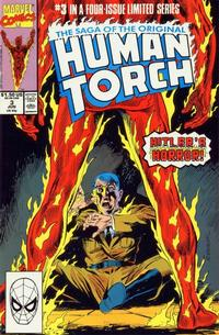 Cover Thumbnail for Saga of the Original Human Torch (Marvel, 1990 series) #3