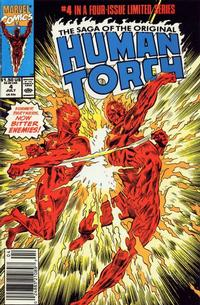 Cover Thumbnail for Saga of the Original Human Torch (Marvel, 1990 series) #4